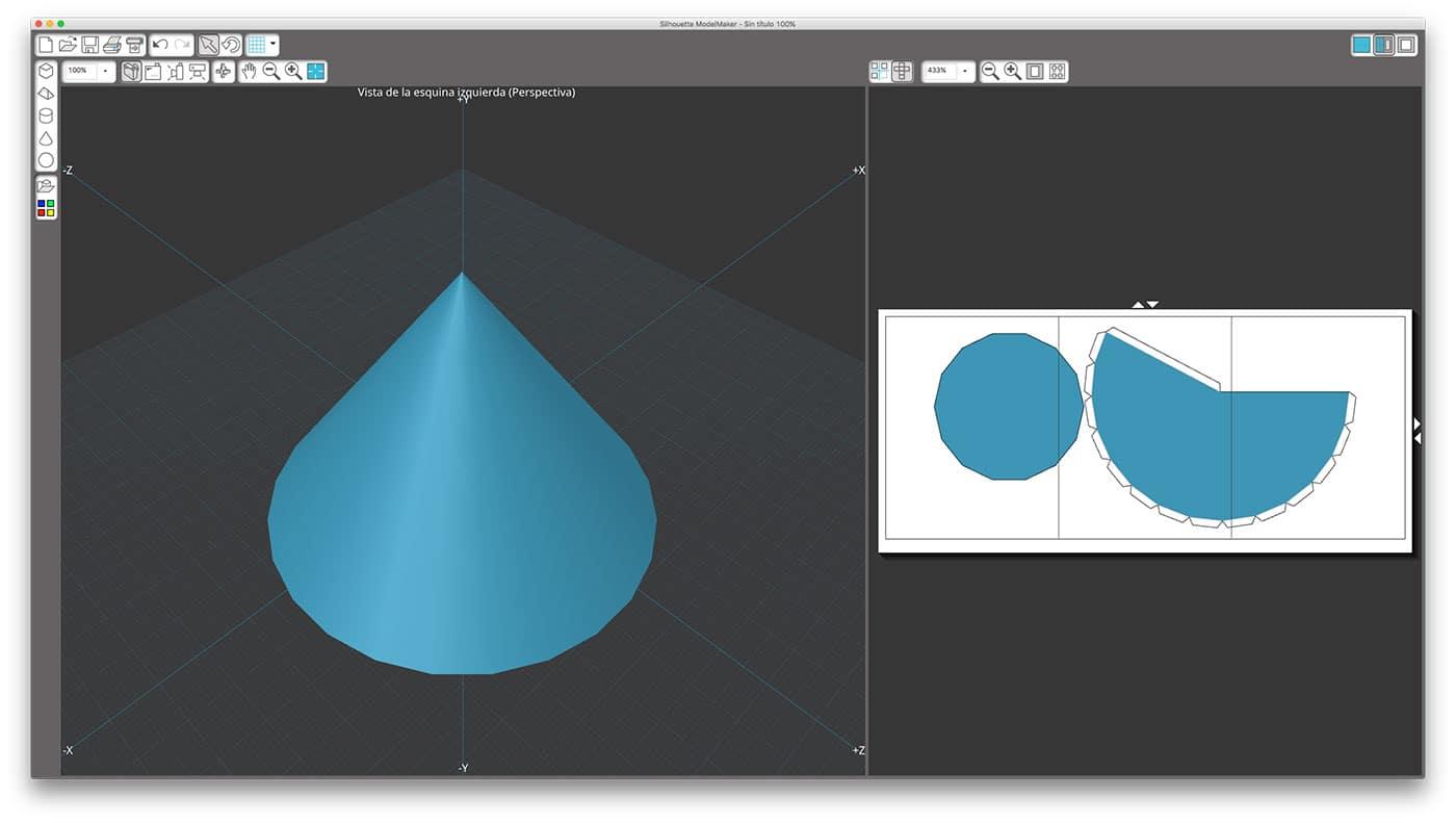 Silhouette ModelMaker. El software 3D de Silhouette.
